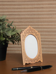 Wooden Jaali Single Frame - Minaret. Small