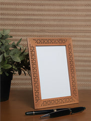 Wooden Jaali Single  Frame - Rectangular