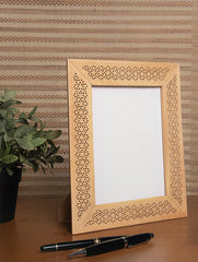 Wooden Jaali Single  Frame - Rectangular. Large