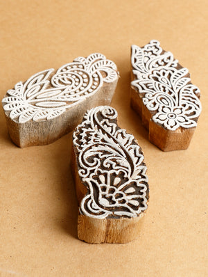 Wooden Carved Printing Blocks