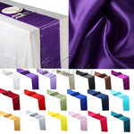 Satin Table Runner 30cm x 275cm For Wedding Party/Event/Banquet/Home