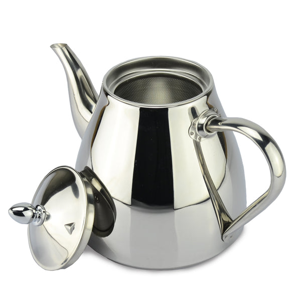 Tea pot and Coffee Drip Kettle pot teapot with strainer stainless steel Kettle hot water for Barista