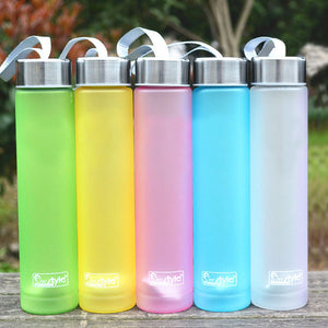 280ml Sport Water Bottle Unbreakable Bicycle Travel Camping Portable Plastic Bottles for Water Outdoor Sports