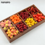 20Pcs Artificial Mini Simulation Small Foam Plastic Fake Artificial Fruit and Vegetables