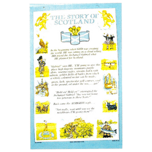"Teatowel - ""The Story of Scotland"""
