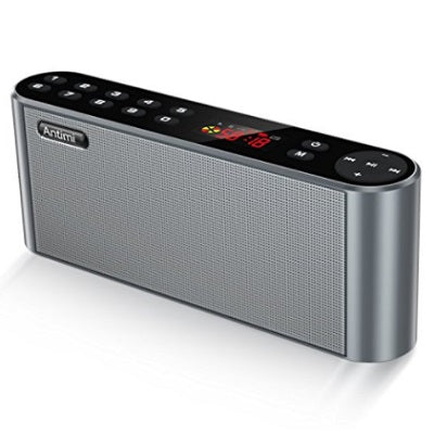 Antimi Bluetooth Speaker With HD Sound, Built-in Microphone, High Definition Audio and Enhanced Bass