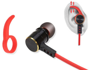 M And J High Quality Waterproof Bluetooth Earphones With In-Ear Earbuds And Microphone