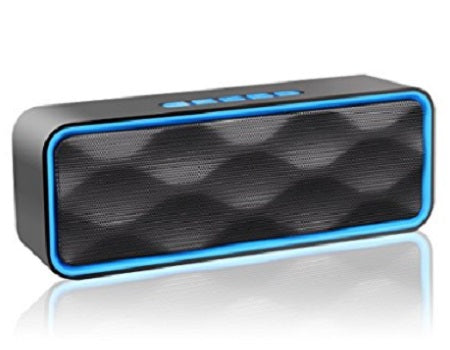 Wireless Bluetooth And Outdoor Portable Stereo Speaker With HD Audio And Enhanced Bass