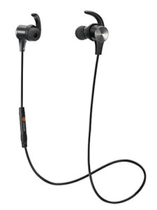 TaoTronics Wireless 4.2 Bluetooth Earphones With Magnetic Earbuds And Built-In Mic