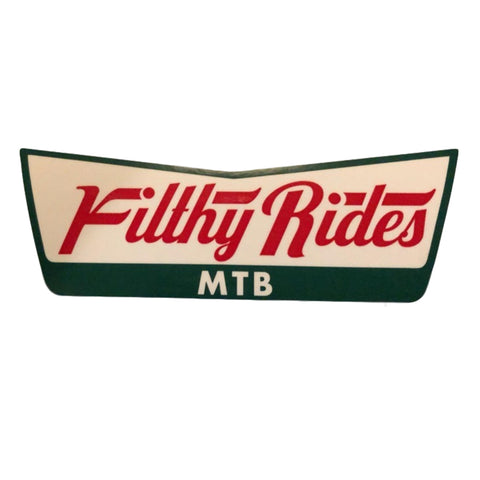 Filthy Rides 15cm Sticker
