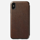Nomad Rugged Folio iPhone Case 真皮揭蓋式 iPhone 保護殼 - UNWIRE STORE - HONG KONG