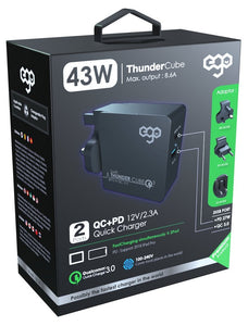 EGO THUNDER CUBE PD旅行充 EGO THUNDER CUBE PD travel charger - UNWIRE STORE