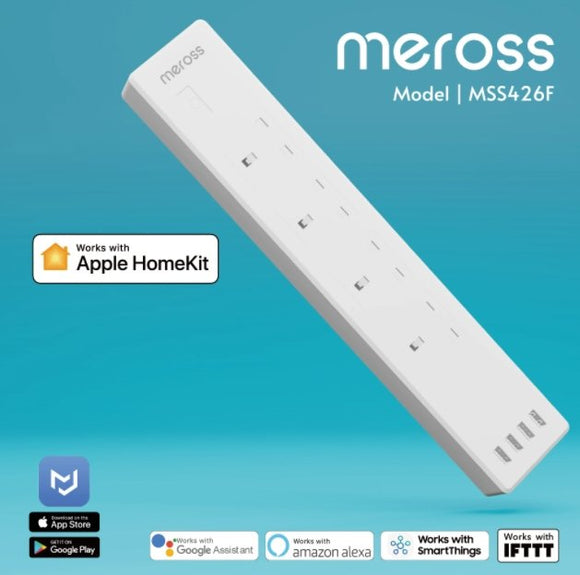 Meross Apple HomeKit Version 智能拖板 (13A) MSS426F - UNWIRE STORE
