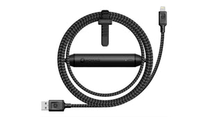 Nomad 彈道尼龍編織 Lightning Battery Cable 電池充電線 - UNWIRE STORE - HONG KONG