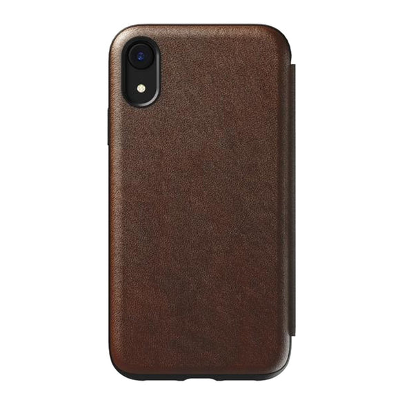 Nomad Rugged Folio iPhone Case 真皮揭蓋式 iPhone 保護殼 - UNWIRE STORE