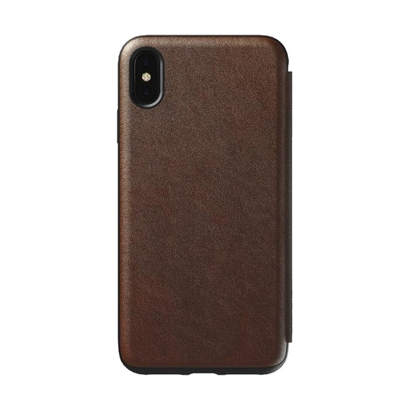 Nomad Rugged Tri-Folio iPhone Case 真皮三摺式 iPhone 保護殼 - UNWIRE STORE