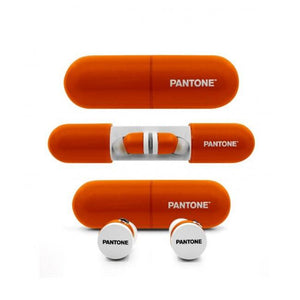 Pantone True Wireless 藍芽耳機 - Orange - UNWIRE STORE