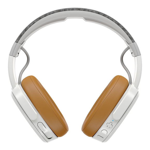 Skullcandy CRUSHER Wireless 可調整式重低音藍牙耳機 - GRAY/TAN/GRAY - UNWIRE STORE - HONG KONG