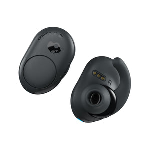 Skullcandy PUSH 全無線藍牙耳機 - DARK GRAY/BLACK True Wireless Headphones - UNWIRE STORE - HONG KONG