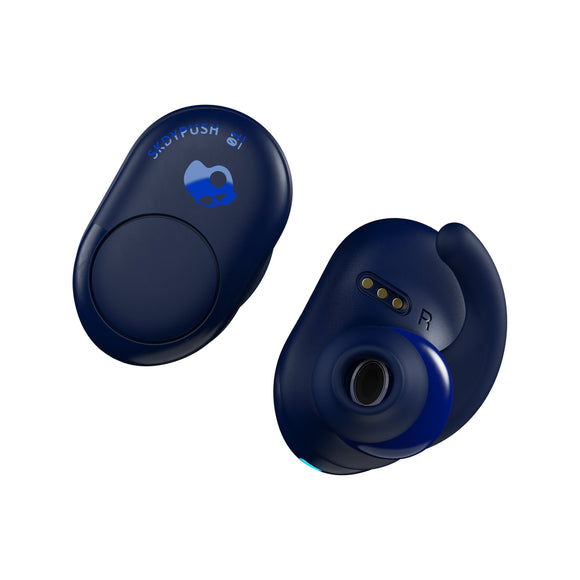 Skullcandy PUSH 全無線藍牙耳機 - INDOIGO/BLUE True Wireless Headphones - UNWIRE STORE - HONG KONG