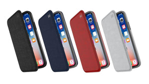Speck Presidio Folio 揭蓋手機保護殼 iPhone X / XS / MAX / XR Case - UNWIRE STORE - HONG KONG