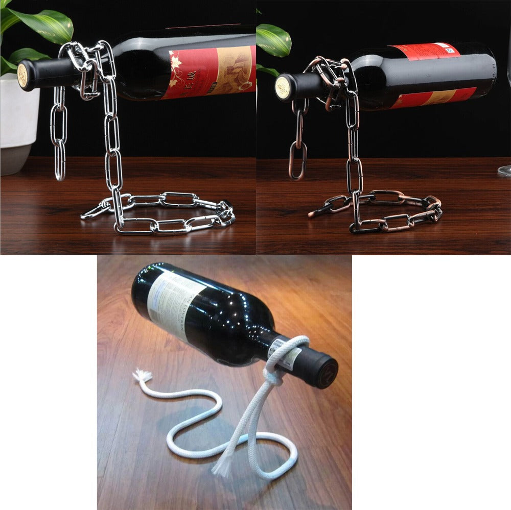Handmade wine holders