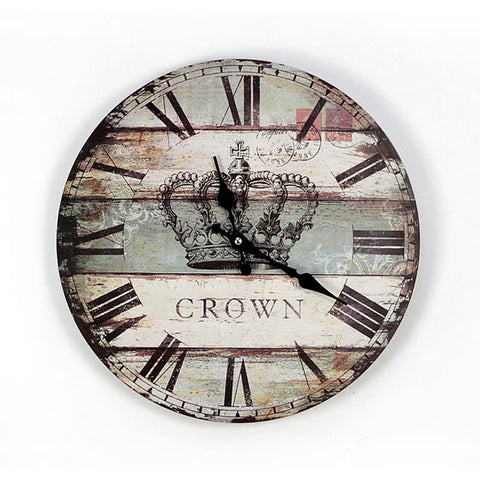 Crown wall clocks
