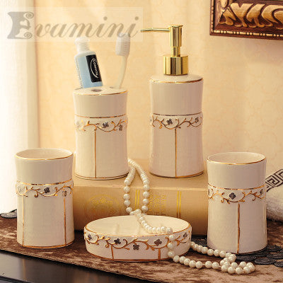 Euro style bathroom accessories