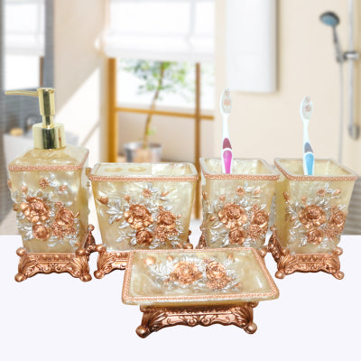 5 pieces Royal style bathroom set