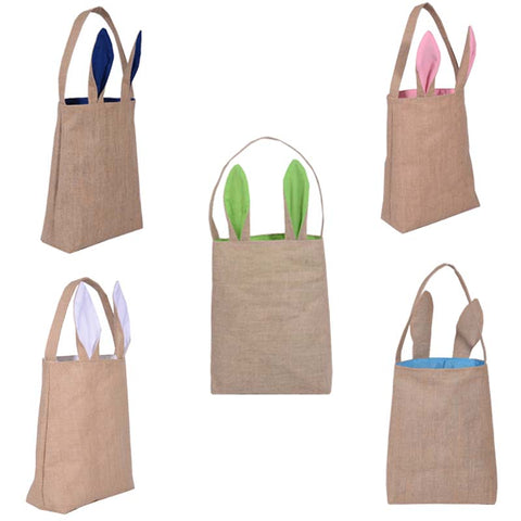 Easter bunny shopping bags