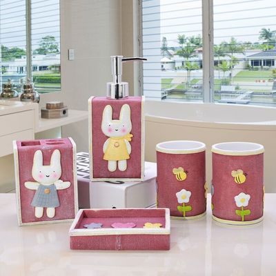 5 pieces European bathroom set