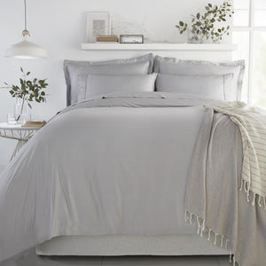Bamboo Duvet Cover Set - Soft Grey - All Bamboo