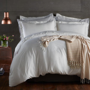 Bamboo Duvet Cover Set - Natural White - All Bamboo