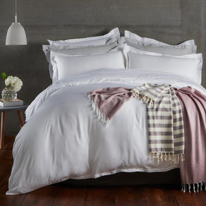 Bamboo Duvet Cover - Pure White - All Bamboo