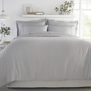 Bamboo Duvet Cover - Soft Grey - All Bamboo