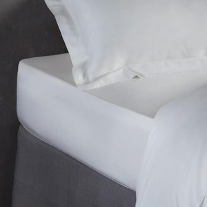 Bamboo Fitted Sheet - Natural White - All Bamboo Limited