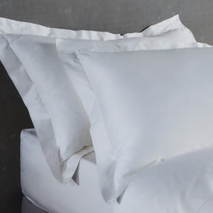 Bamboo Pillowcases - Set of 2 (Natural White) - Oxford Style - All Bamboo Limited