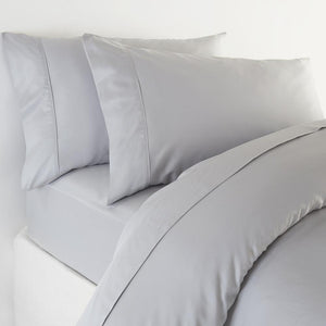 Bamboo Pillowcases - Set of 2 (Soft Grey) - Housewife Style - All Bamboo Limited