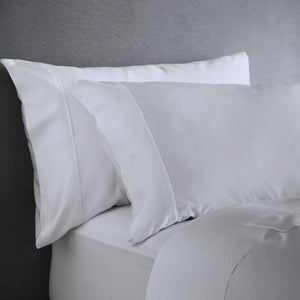 Bamboo Pillowcases - Set of 2 (Natural White) - Housewife Style - All Bamboo