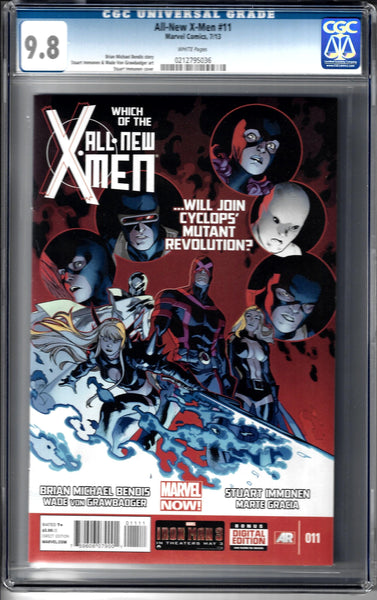 All New X-Men #11 CGC Rated 9.8