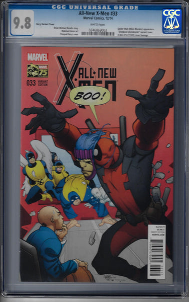 All New X-Men #33 / 1:25 Variant - Deadpool Photo-bomb Cover