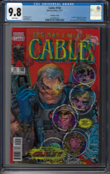 Cable #150 - New Mutants #87 / Lenticular Cover - Rob Liefeld Cover