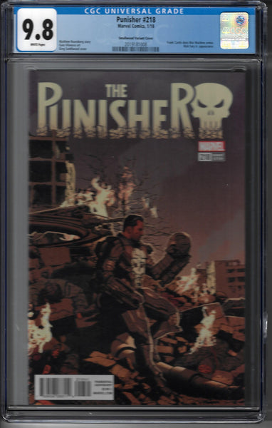 Punisher #218 - Greg Smallwood Variant 1:25 Ratio