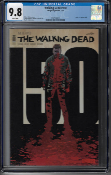Walking Dead #150 - Cover A by Charlie Adlard & Dave Stewart