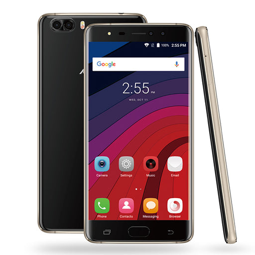 S-Color M88 Dual Sim Smartphone with Finger print Scanner & SLR Camera, 4G LTE, 6GB - 64GB-Aiiwah.com