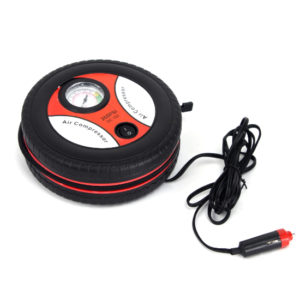 12V Portable Electric Mini Tire Inflator Air Compressor - Aiiwah.com
