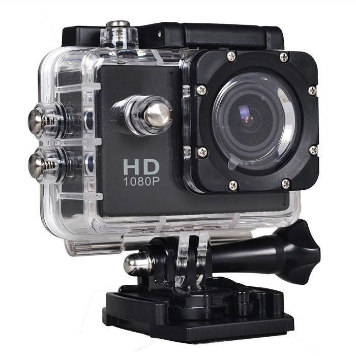1080P Sports Camera, 30 Meters Under Waterproof Case, Angle Lens, 2 inch High Definition Screen. - Aiiwah.com