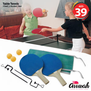Table Tenic Bat With Ball And Net-Aiiwah.com