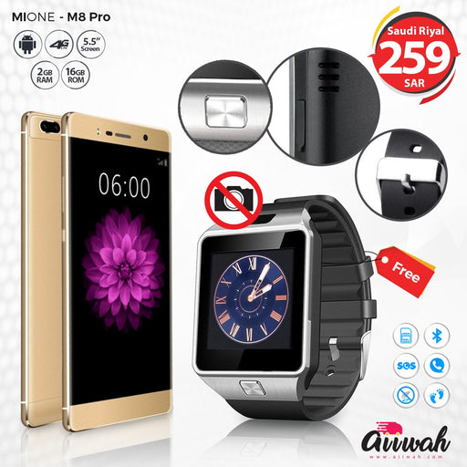 Mione M8 Pro + Smart Watch - Aiiwah.com