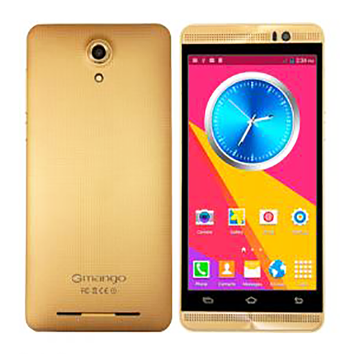 Gmango 6x Smartphone, 3G, Android 4.4 (KitKat), 5 inch IPS LCD Display, 8GB Storage, 1GB RAM, Dual Core, Dual SIM, Dual Camera, Wifi